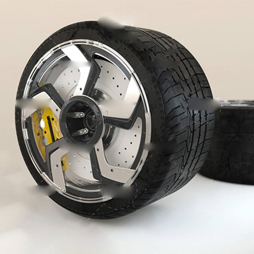 兰博基尼汽车轮胎C4D OC模型
