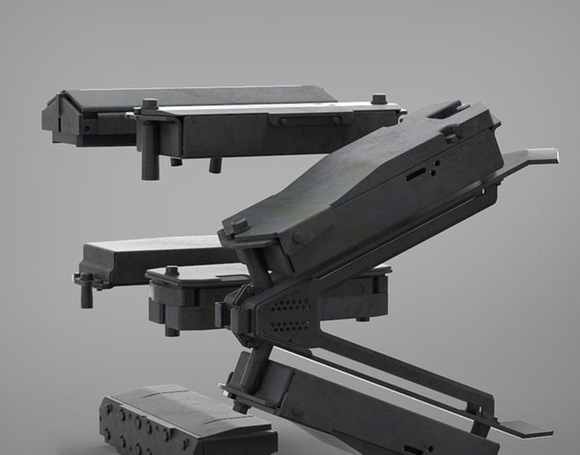 超强机械设备3D模型合辑C4D模型创意场景OBJ五金机械FBX素材