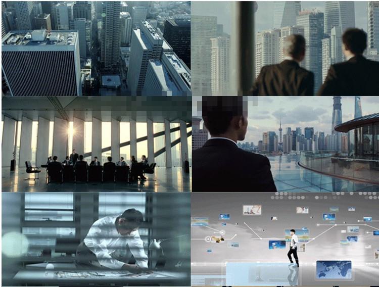 实拍高端商务成功人士合作视频素材 精英白领商业合作 励志企业