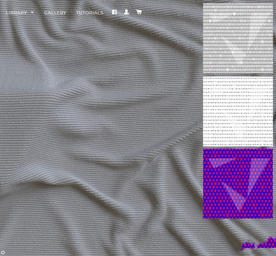 C4D TIF HDR高精度tif衣服裤子面料针织物法线贴图三维素材