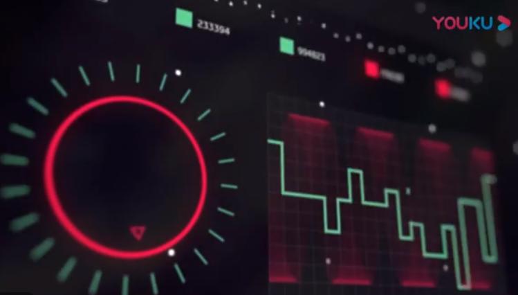 AE模板-未来高科技HUD元素图表元素动画