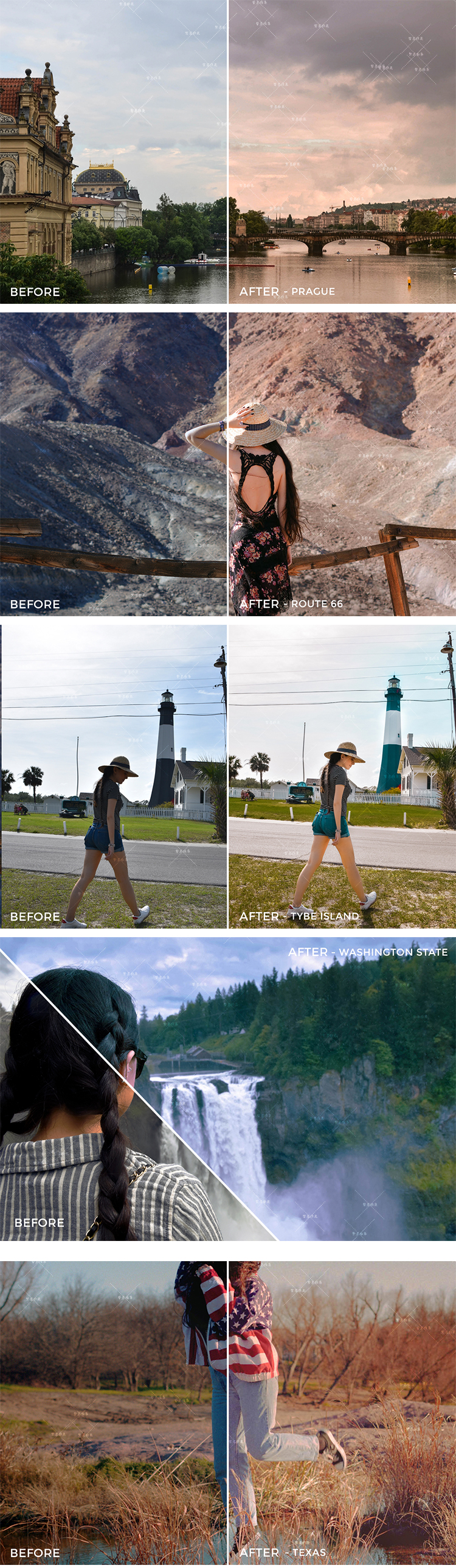 LR预设手机APP滤镜Lightroom调色旅行风景肖像城市旅拍人像 S3