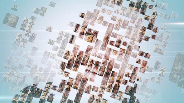 【22期】FCPX插件:众多图片汇聚LOGO标题片头动画