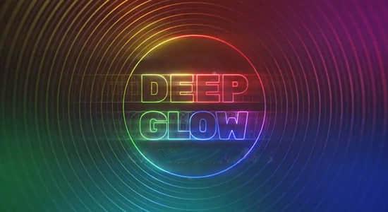 AE插件-漂亮真实高级辉光发光插件 Deep Glow v1.4.1