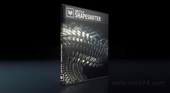 AE插件-三维网格变形3D徽标图形动画生成插件 v1.99 Win/Mac破解版