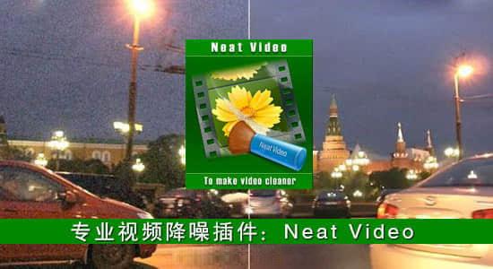 达芬奇-专业视频画面降噪插件 Neat Video Pro 5.4.7 Win CE